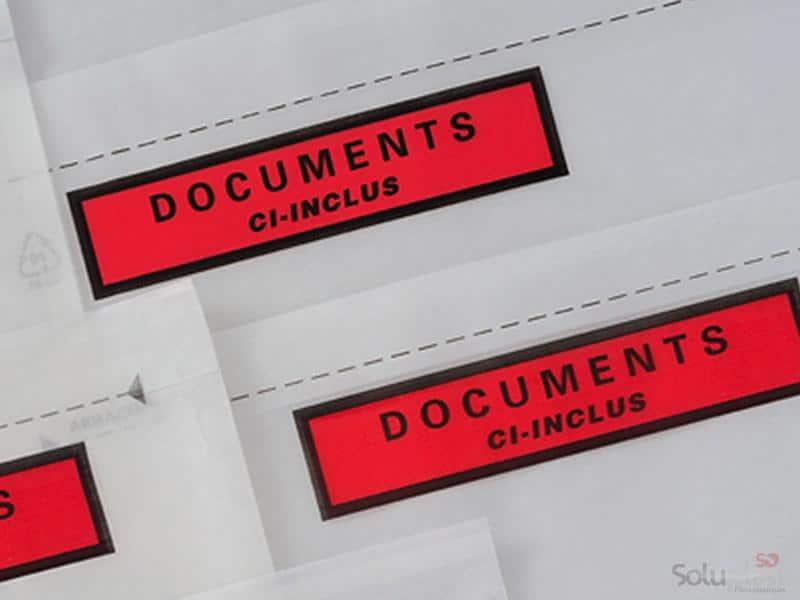 Pochettes porte-documents